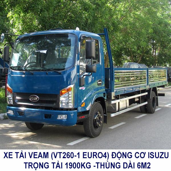 Xe Tải Veam Động cơ isuzu, Hyundai