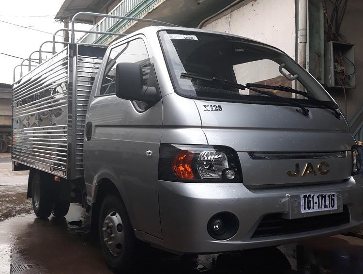 Xe tải Jac 1.25 tấn máy dầu Euro 4