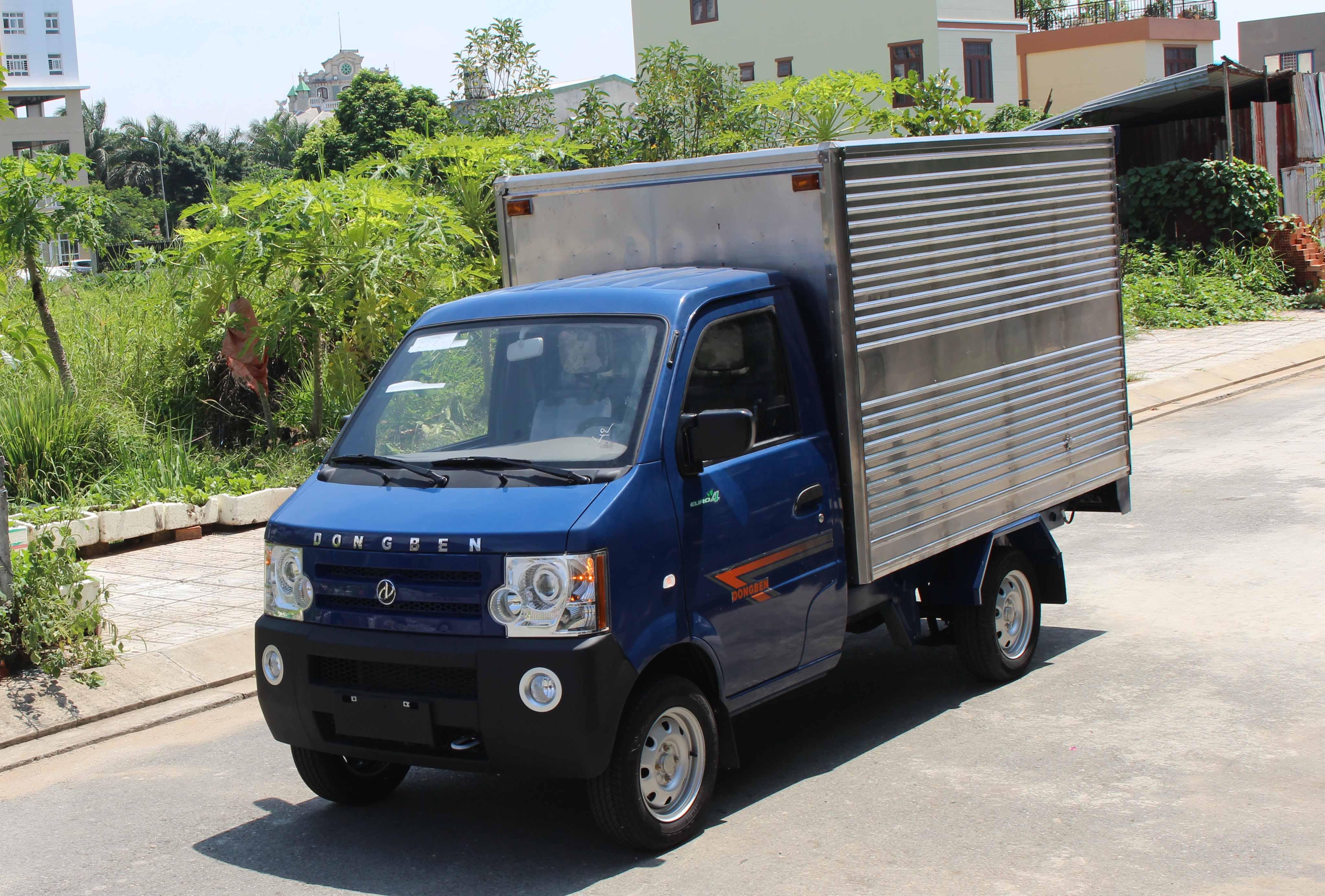 Xe tải Dongben 870kg đa dụng và thân thiện