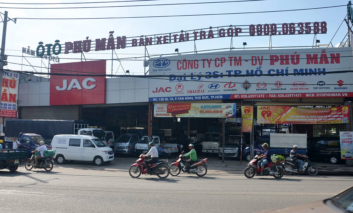 ÔTô Phú Mẫn Chuyên bán và Bảo Hành xe tải -Bán Xe Tải Trả Góp Uy Tín