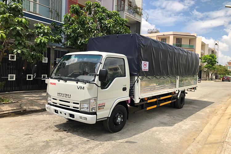 Xe tải isuzu 1.9 tấn thùng dài 6.2 mét mạnh mẽ và bền bỉ