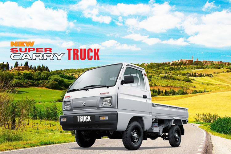 Xe Tải Suzuki Carry Truck 550kg Thùng Lửng -Bạt -Kín -Thùng Ben