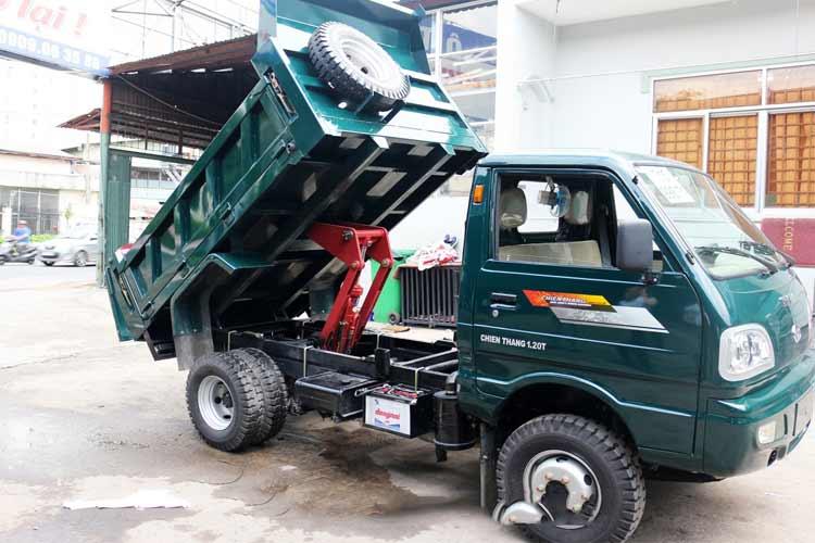 Xe Ben Chiên Thắng 1.2 Tấn Ư tiên hàng đầu cho vận chuyển vật liệu