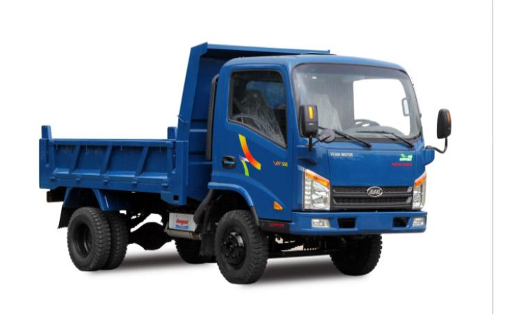 Xe Ben VB200 Veam Trọng tải 1.850kg Máy Hyundai