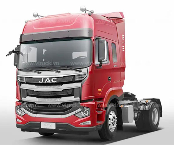 Xe Đầu Kéo JAC 1 Cầu 290Hp Cabin JAC A5 - Đầu Kéo JAC 1 Cầu A5