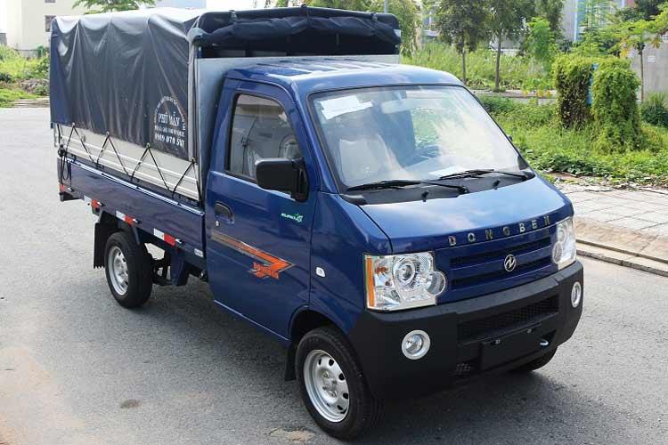 Xe Dongben thùng bạt 810kg (DB1021)