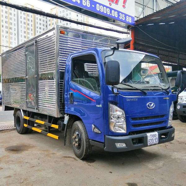 Xe tải IZ65 thùng kín (1T9, 2T2, 3T4)