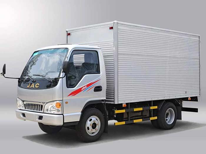 Xe Tải Jac 2.4 tấn (HFC1030K4) Thùng Kín