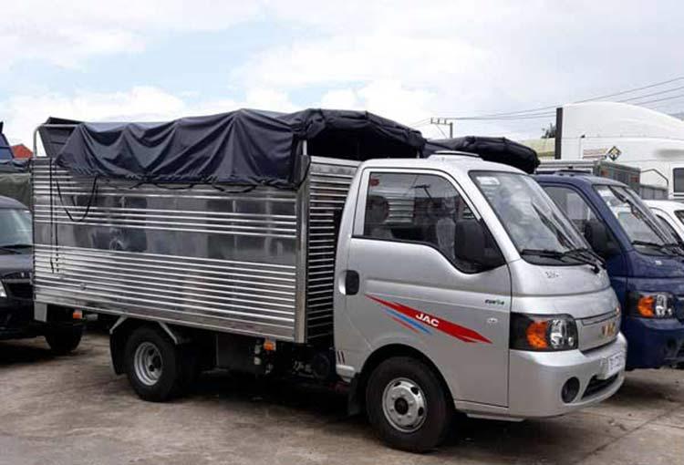 Xe Jac Euro4 Máy Dầu Thùng Bạt 1.25 tấn