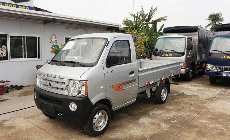 Xe tải Dongben thùng lửng 870kg (DB1021)