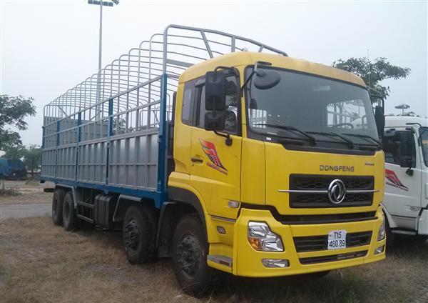 Xe Dongfeng Hoàng Huy 4 chân (YC310 Trọng tải 17.9 tấn)