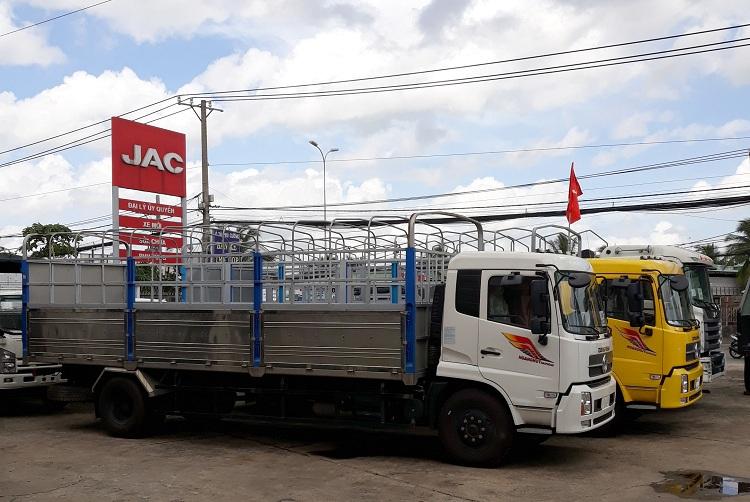 Xe tải Dongfeng Hoàng Huy B170 thùng bạt 9T35