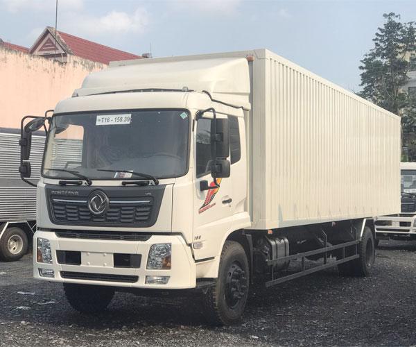 Xe Tải Dongfeng 8 Tấn Thùng Kín Inox - Thùng Kín Container 9.7M