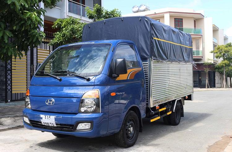 Ưu điểm của xe tải Hyundai New Porter 150 thùng bạt