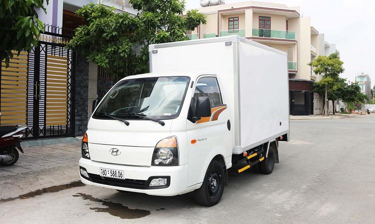 Xe tải Hyundai thùng đông lạnh