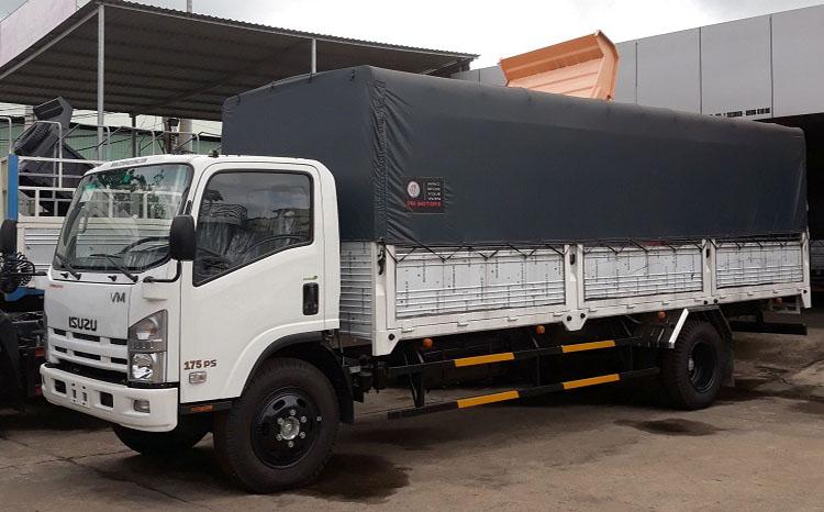 Xe tải isuzu 8T2 -FN129 Thùng bạt