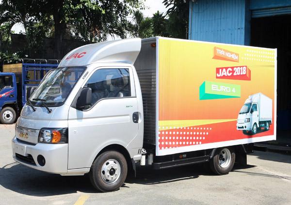 Xe Jac 1.5 tấn Thùng Kín