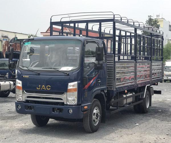 XE TẢI JAC 6T5 THÙNG 6.2M -XE JAC N650 PLUS THÙNG DÀI ĐỘNG CƠ CUMMINS MỚI