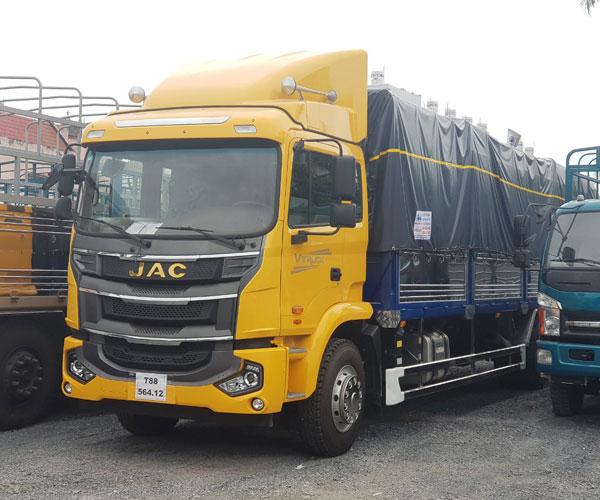 Xe Tải JAC A5 Thùng Bạt -Thùng Kín -Thùng Container Dài 9.6M Nhập nguyên chiếc