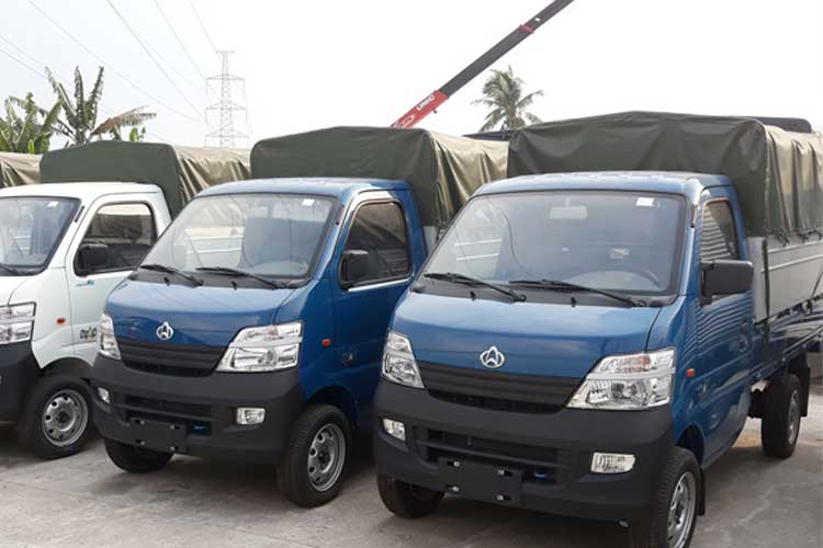Xe tải Veam Star 710kg thùng bạt