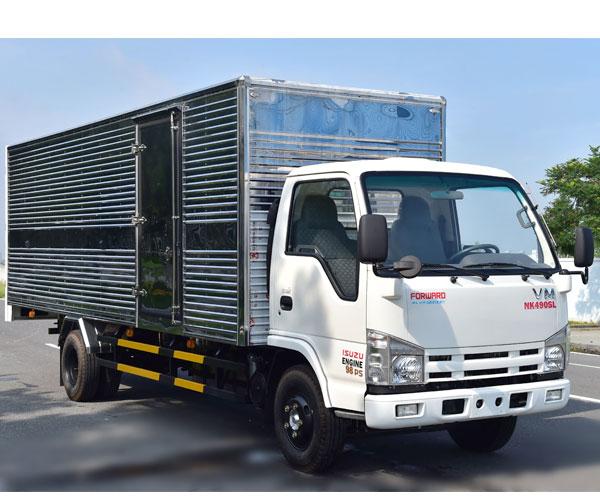 Xe Tải Vĩnh Phát 1T9 Thùng Dài 6m2 - Xe Tải VM NK490SL 100% CDK Isuzu