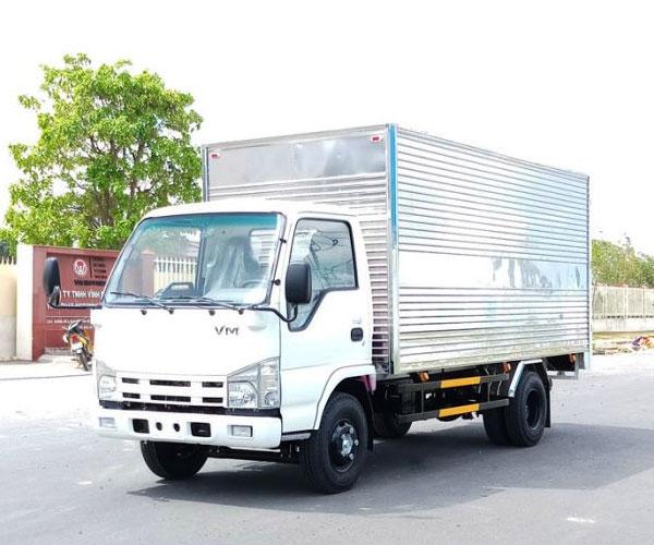 Xe Tải VM 1T4 Thùng Dài 4M4 NK470 Động cơ Isuzu Diesel 2.771cc Euro4