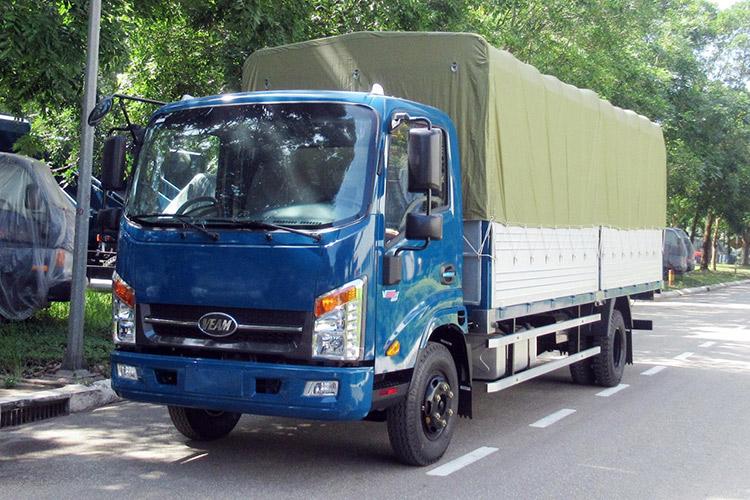 Xe tải Veam VT260 thùng dài 6m trọng tải 1.9 tấn