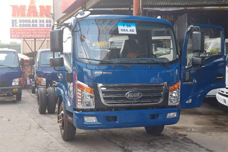 XE TẢI VEAM VTP350 TRỌNG TẢI 3.5 TẤN THÙNG 4.9M